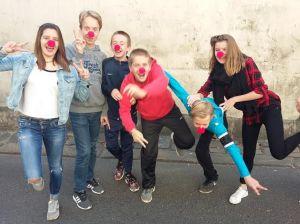 enfants stéphanie nez rouge